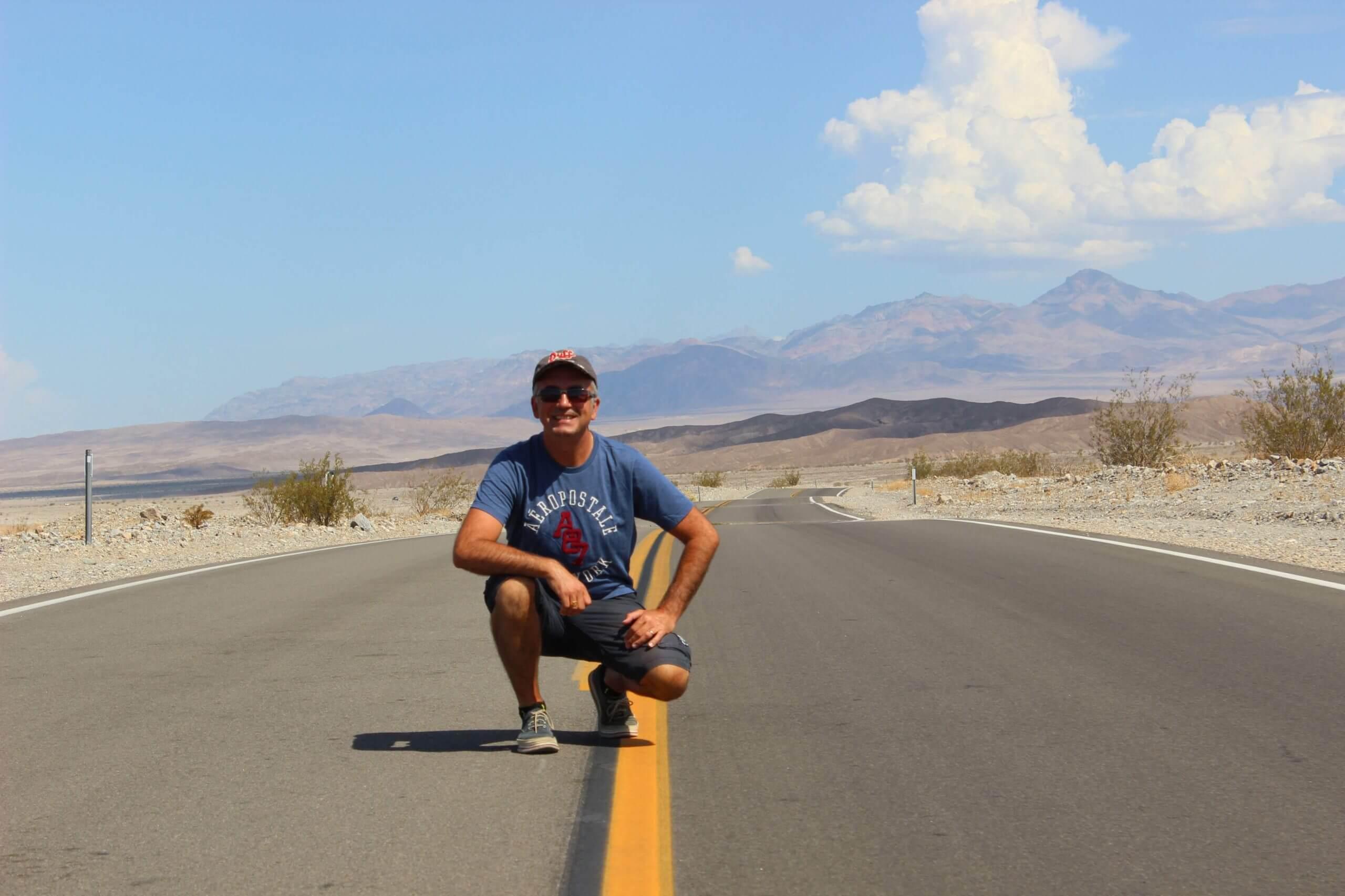 Notre histoire : Christophe en road-trip dans les parcs nationaux américains