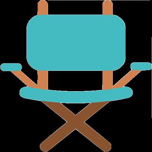 Icône fauteuil de camping